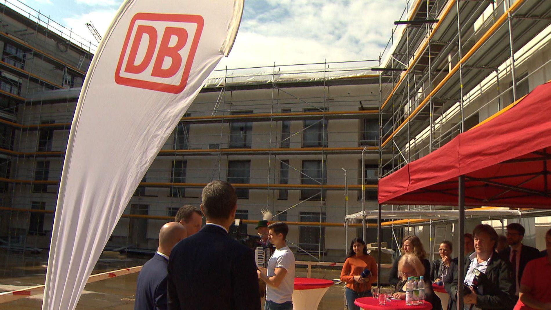 Die Deutsche Bahn baut Wohnungen für ihre Mitarbeiter