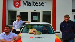 Einkaufsservice der Malteser in Lohr am Main (Lkr. Main-Spessart) | Bild:Malteser Lohr