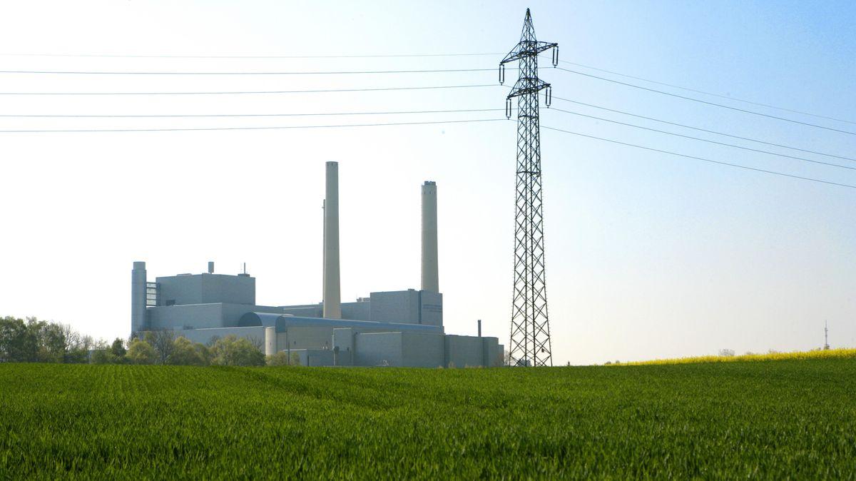 Heizkraftwerk Unterföhring bei München
