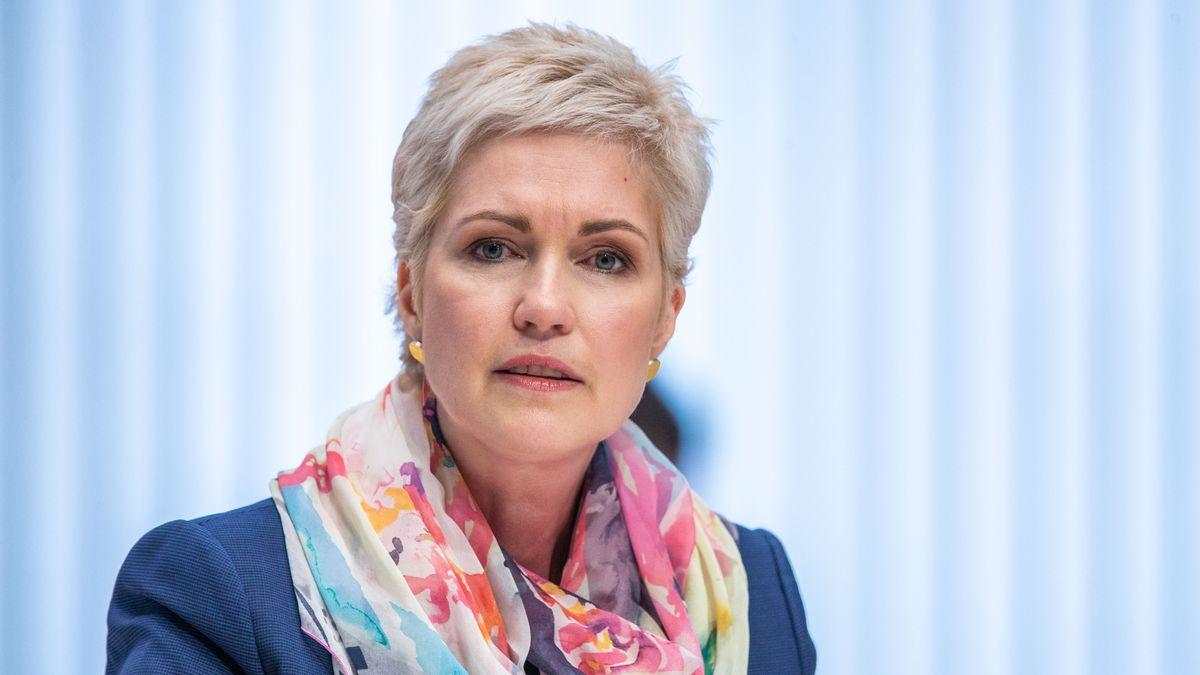 Die Ministerpräsidentin von Mecklenburg-Vorpommern: Manuela Schwesig (SPD).