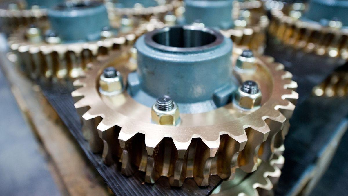 Teile eines Getriebes