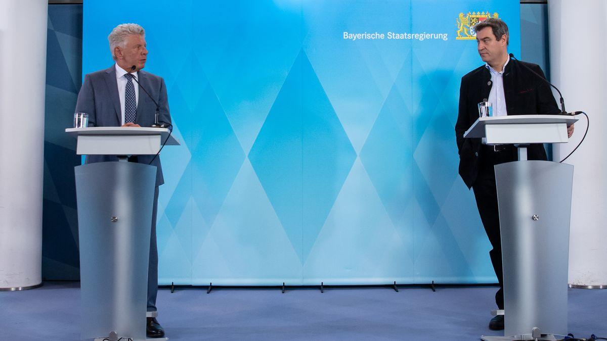 Archivbild: Münchens OB Reiter und Ministerpräsident Söder
