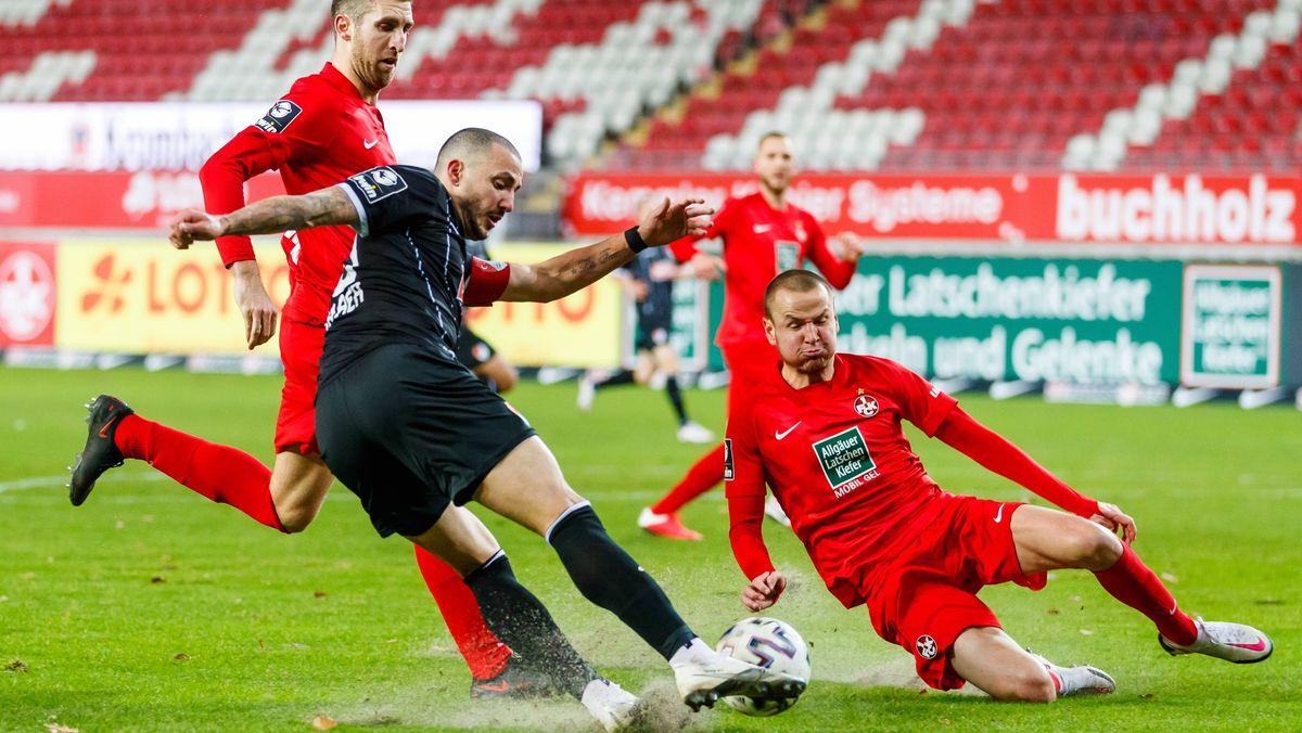 Spielszene Kaiserslautern - Türkgücü