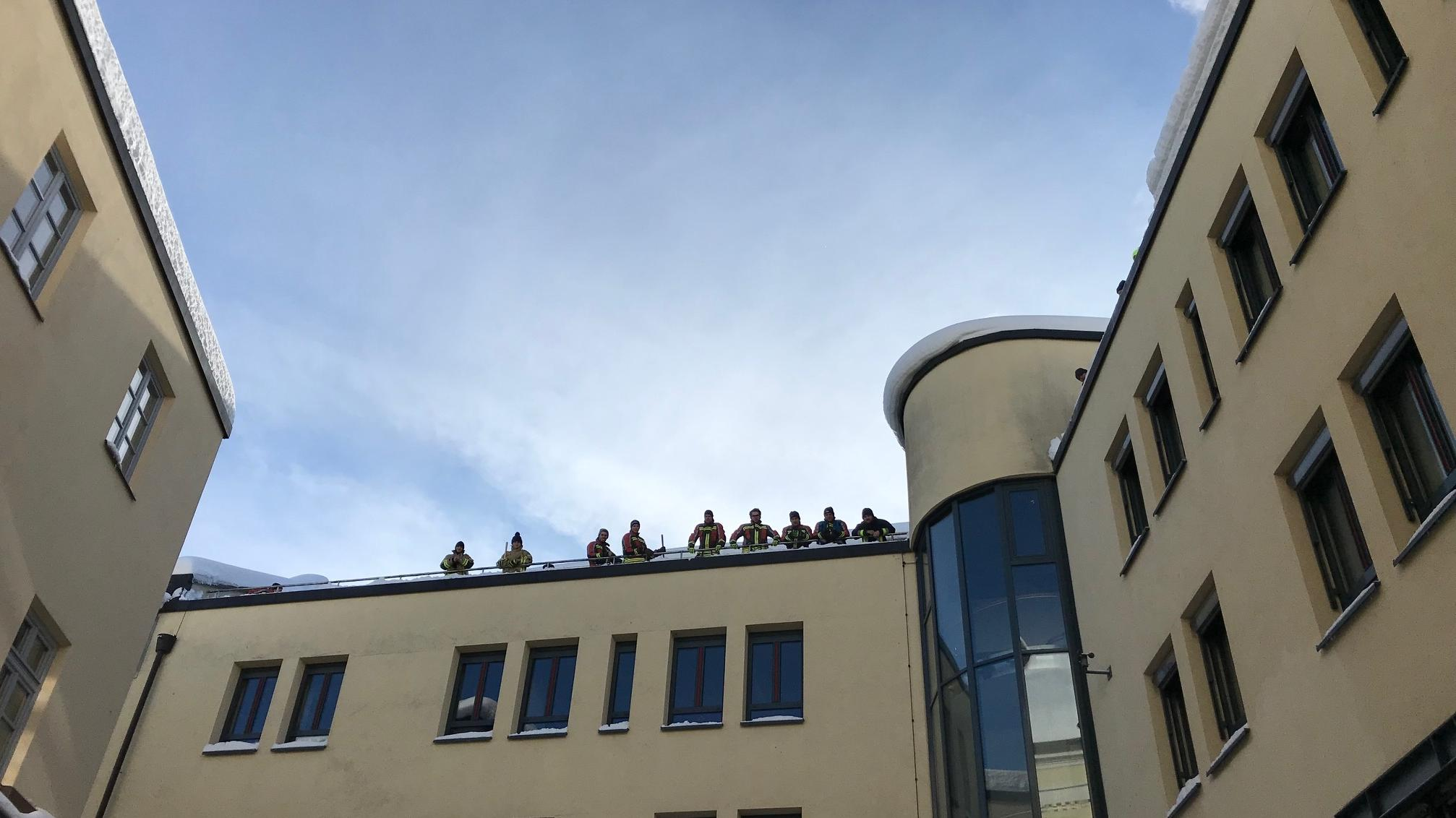 Helfer aus Freising sind in Traunstein im Einsatz.