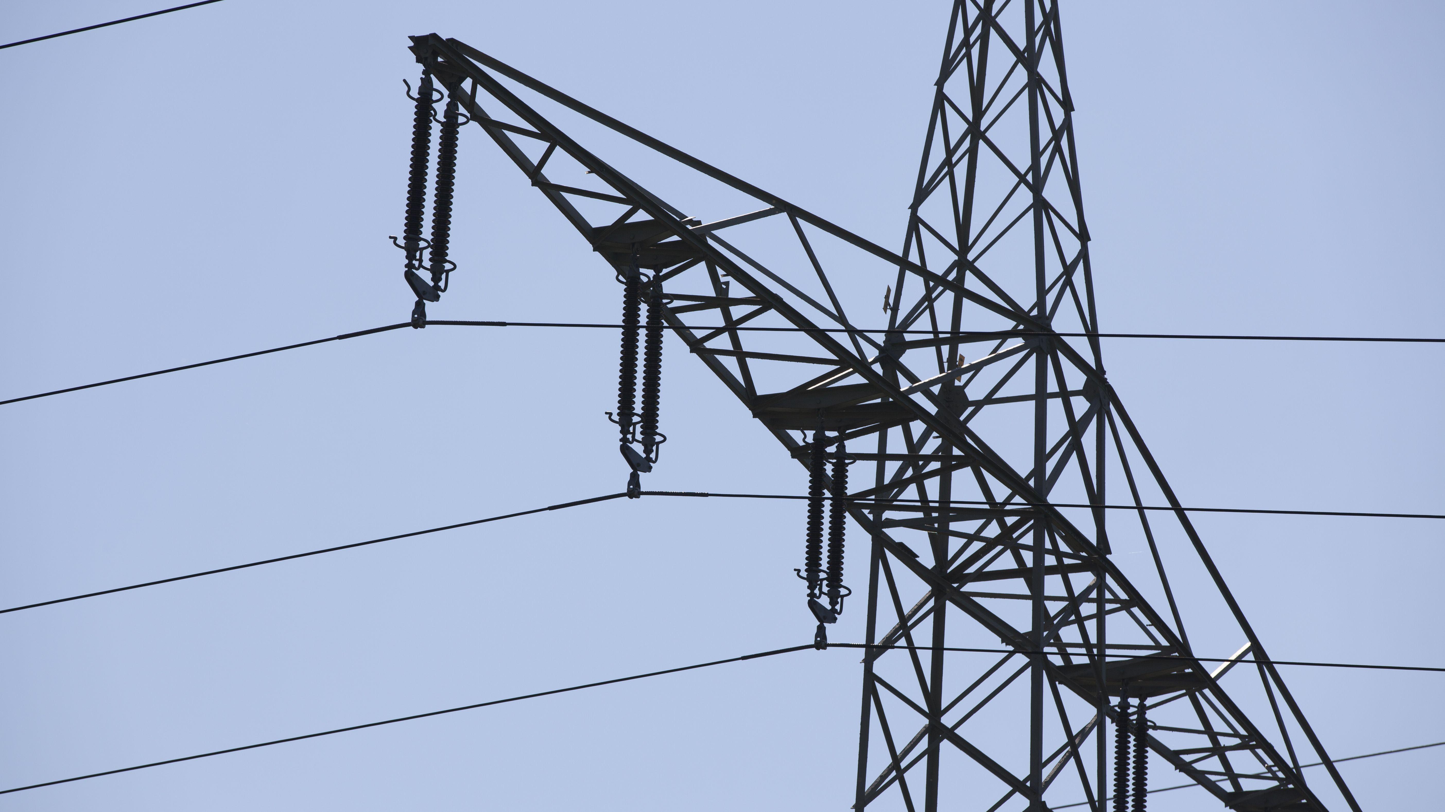 Stromleitung (Symbolbild)