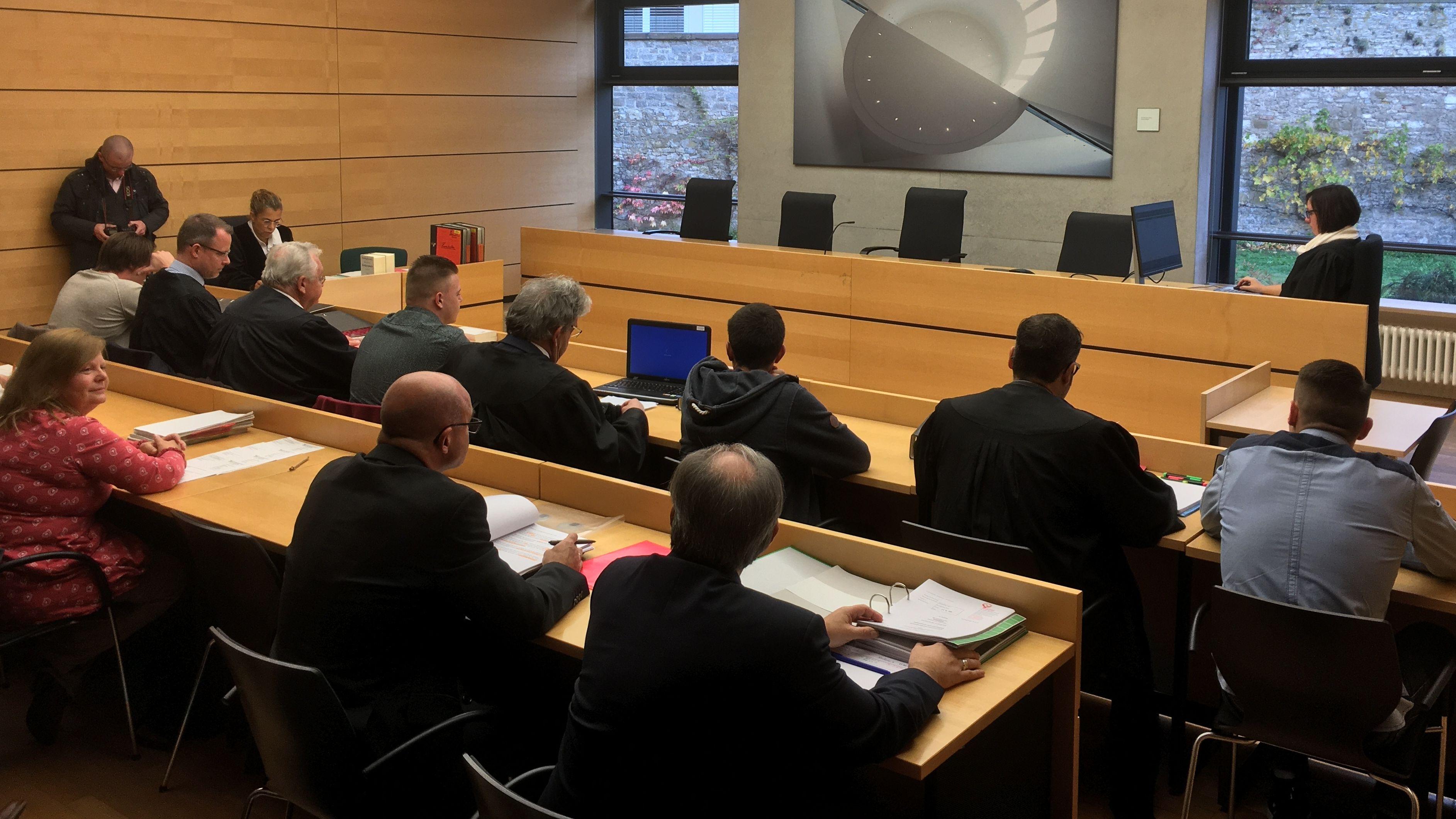 Prozess in Würzburg über die Fahrerflucht in Untereisenheim