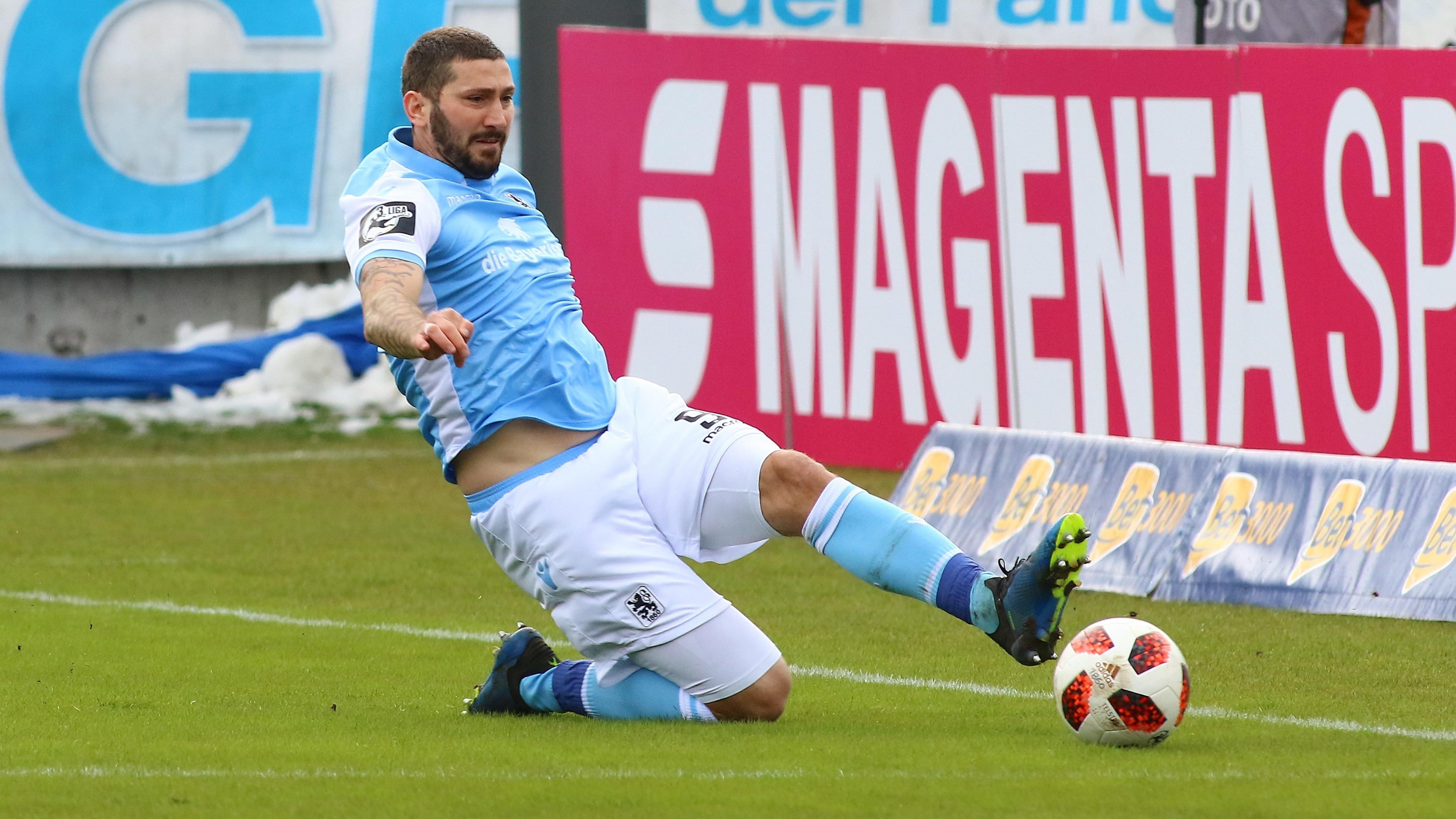 Sascha Mölders vom TSV 1860 München