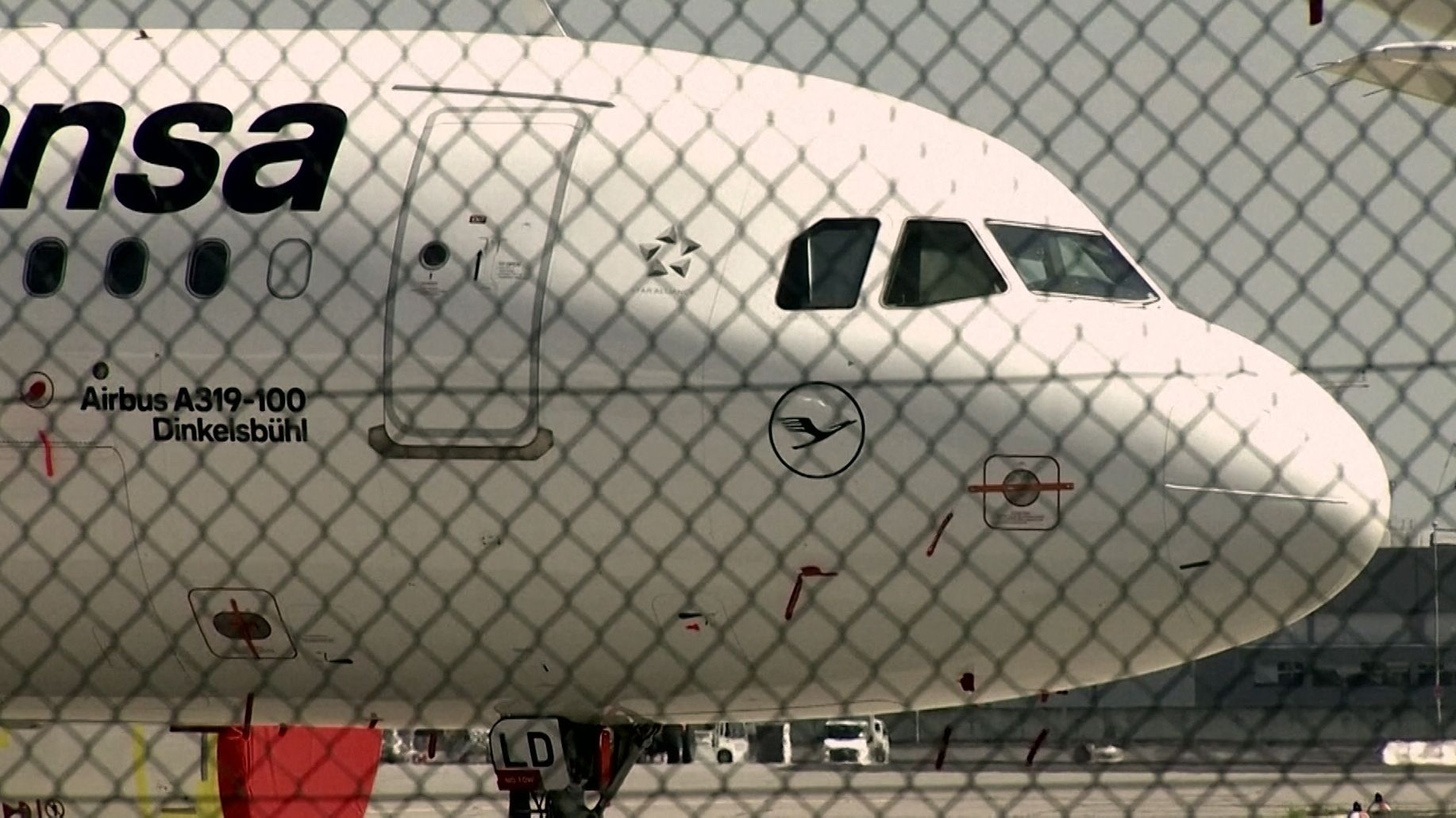 Lufthansa-Flugzeug
