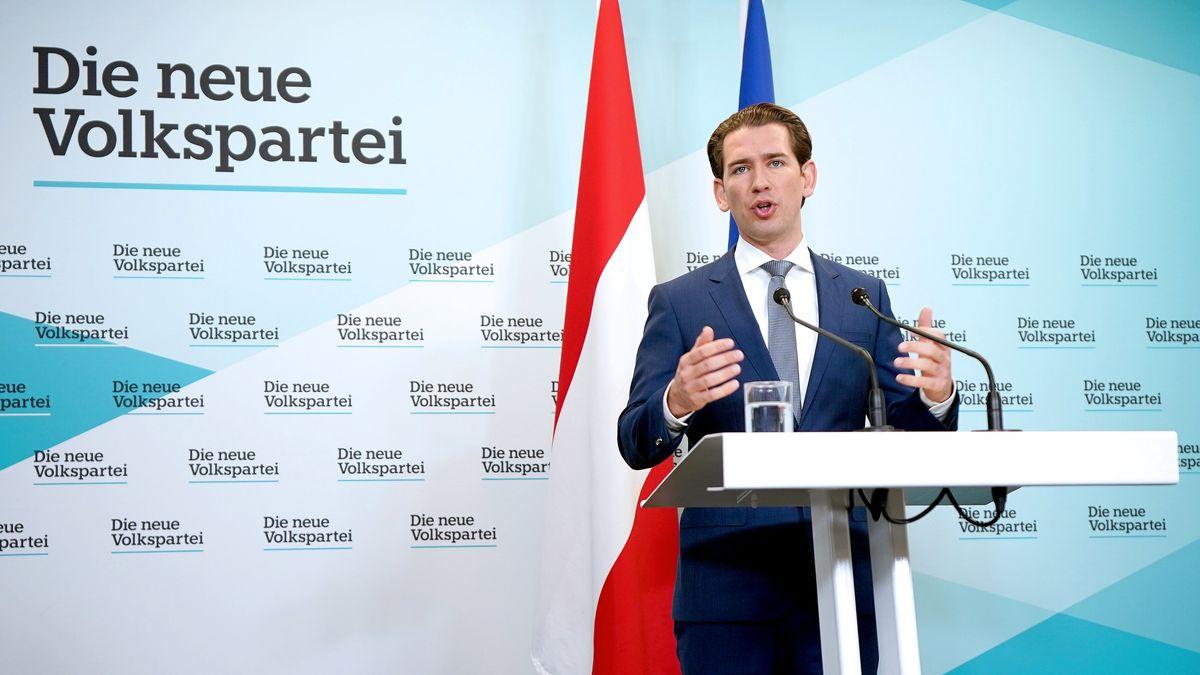 Der Chef der österreichischen, konservativen ÖVP und Ex-Kanzler, Sebastian Kurz