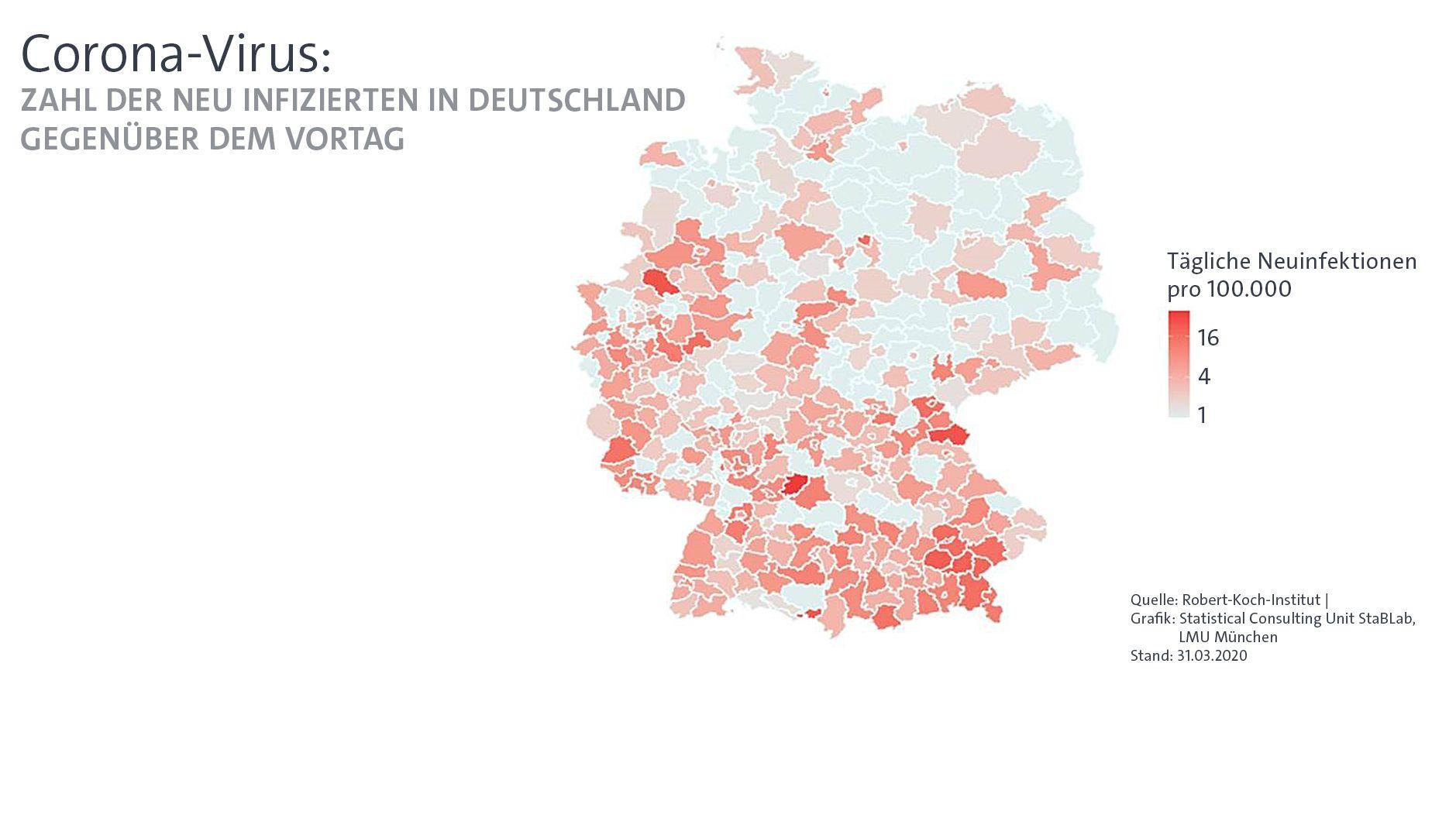 Coronavirus: Warum es Bayern so hart trifft