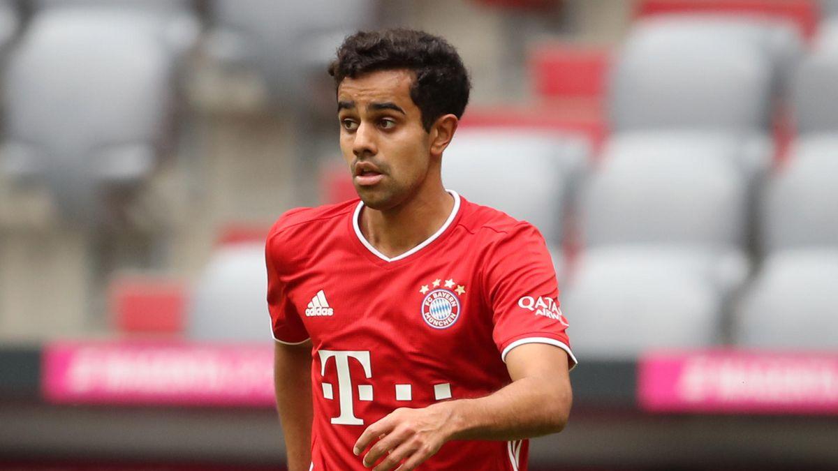 Sarpreet Singh im Trikot des FC Bayern München