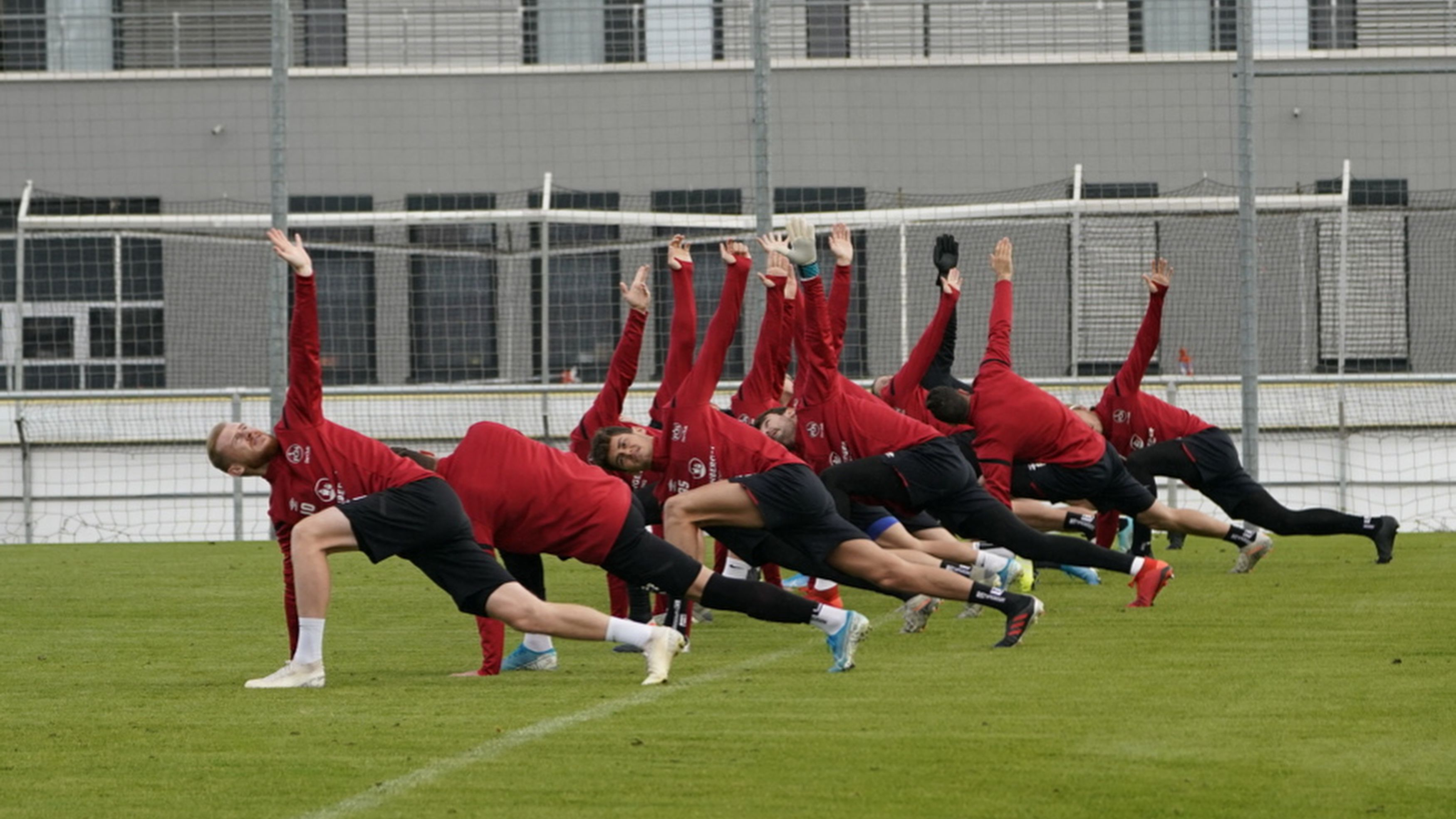 2. Fussball-Bundesliga 1. FC Nuernberg - Training