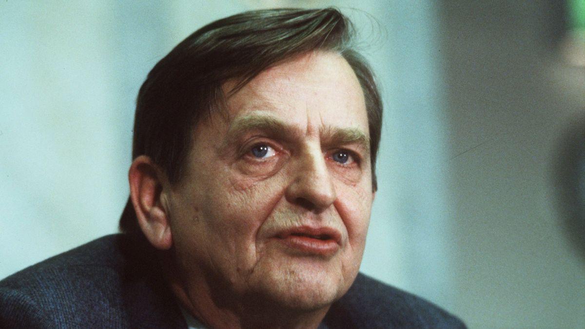 Schwedens zweimaliger Ministerpräsident Olof Palme
