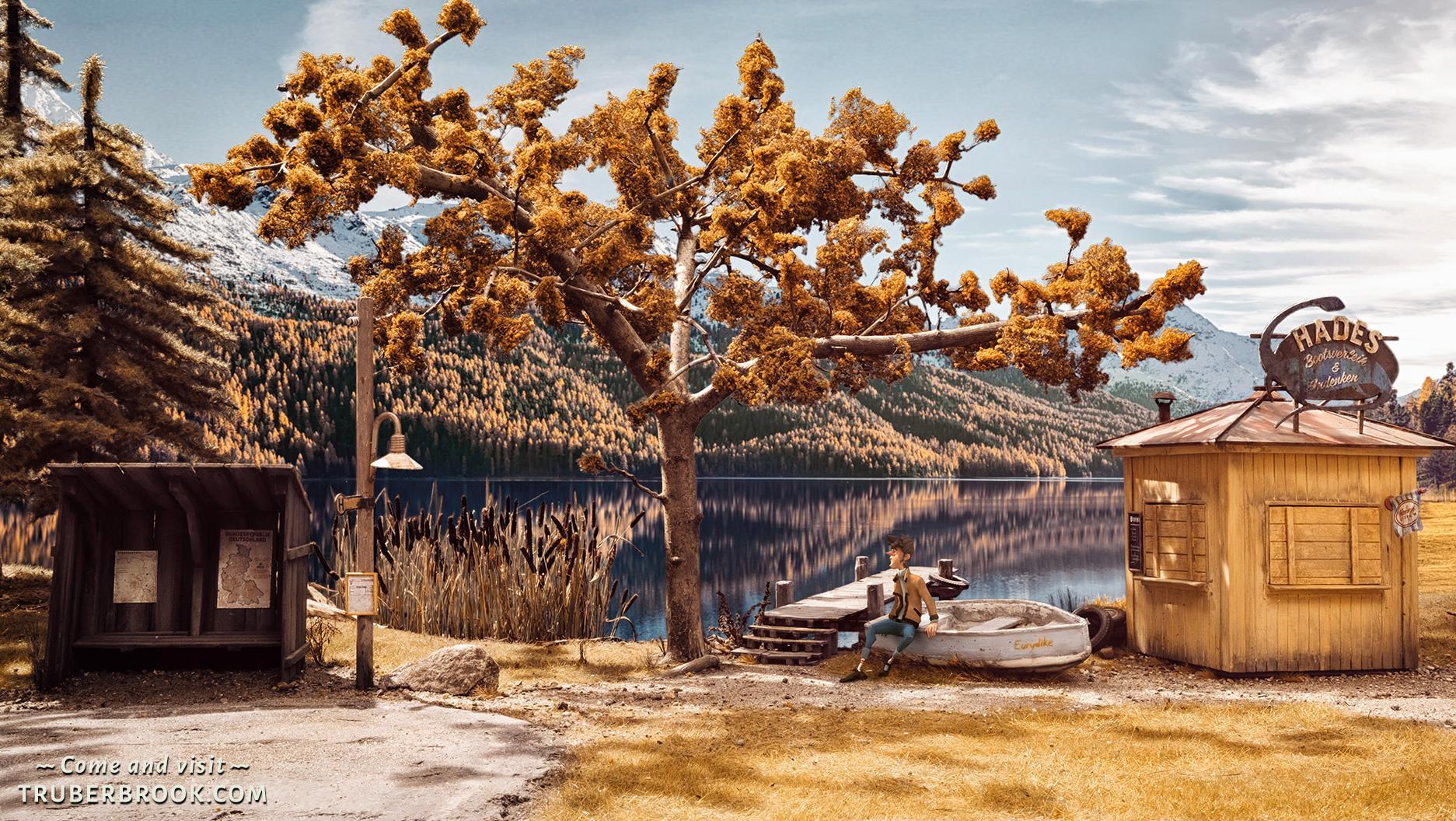 Trüberbrook - von der Serie Twin Peaks inspiriert