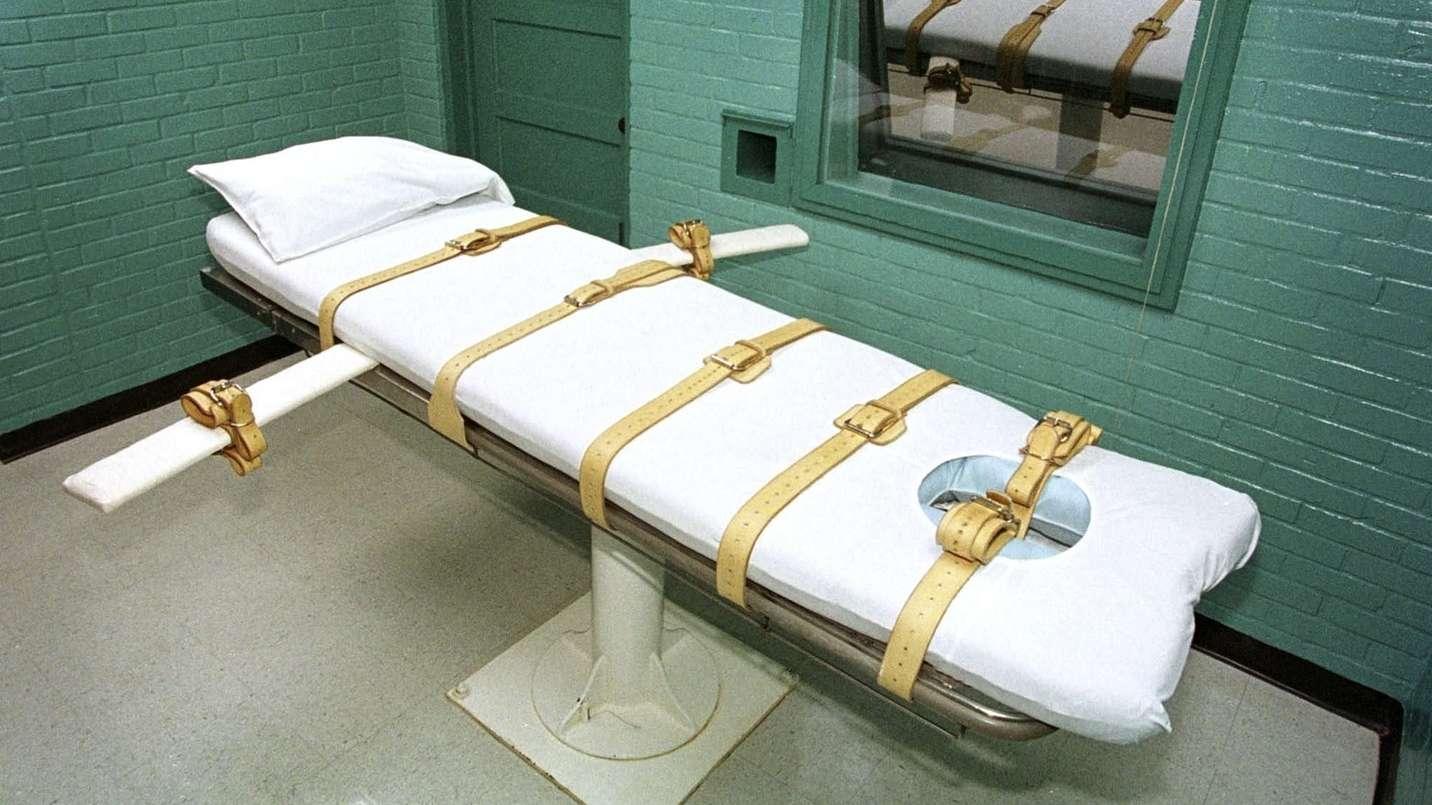 Die Todeszelle des berüchtigten Huntsville-Gefängnisses in Texas, USA