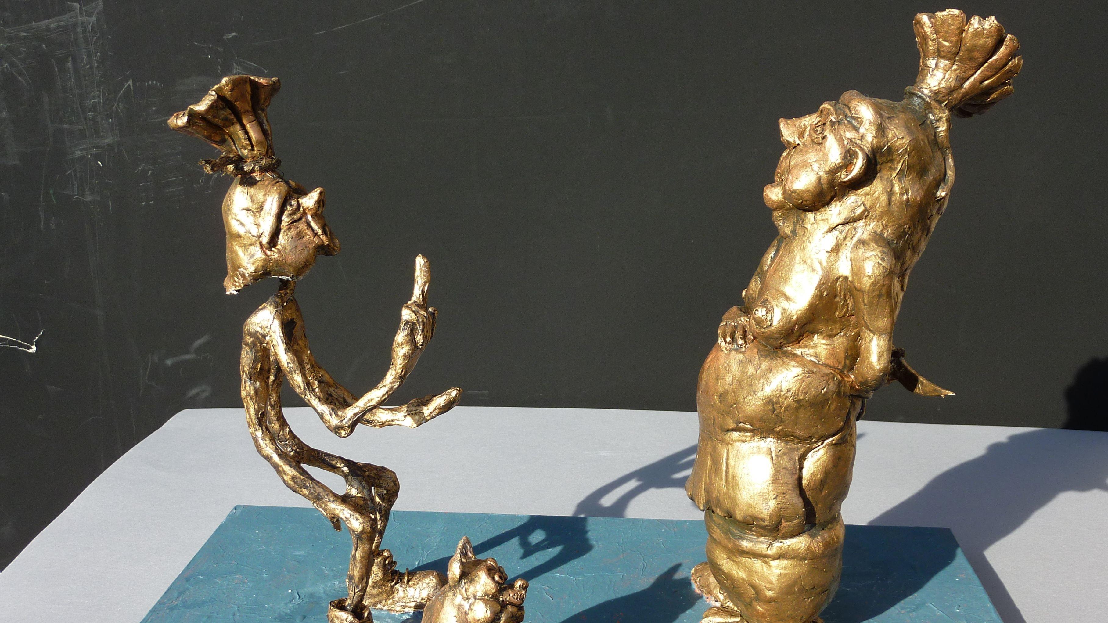 """Entwurf der """"Mopper- und Schnüdel-Skulptur"""""""