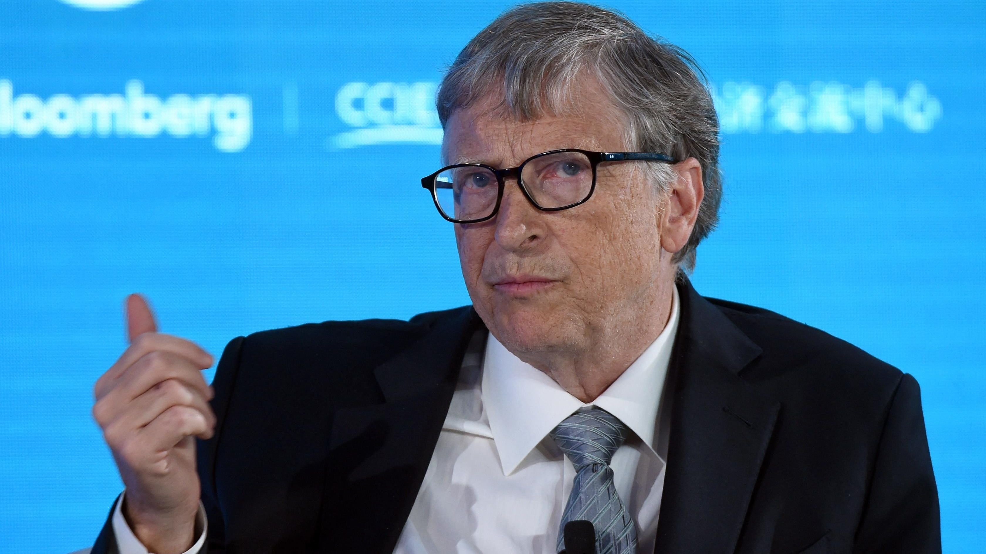 Archiv: Bill Gates bei New Economy Forum in China 21. November 2019