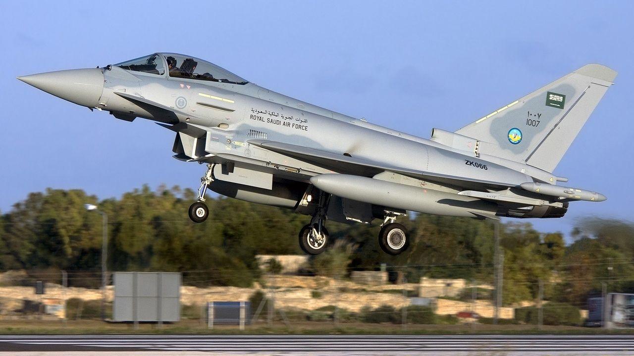 Mehrere bayerische Rüstungsfirmen sind am Bau des Eurofighters beteiligt.