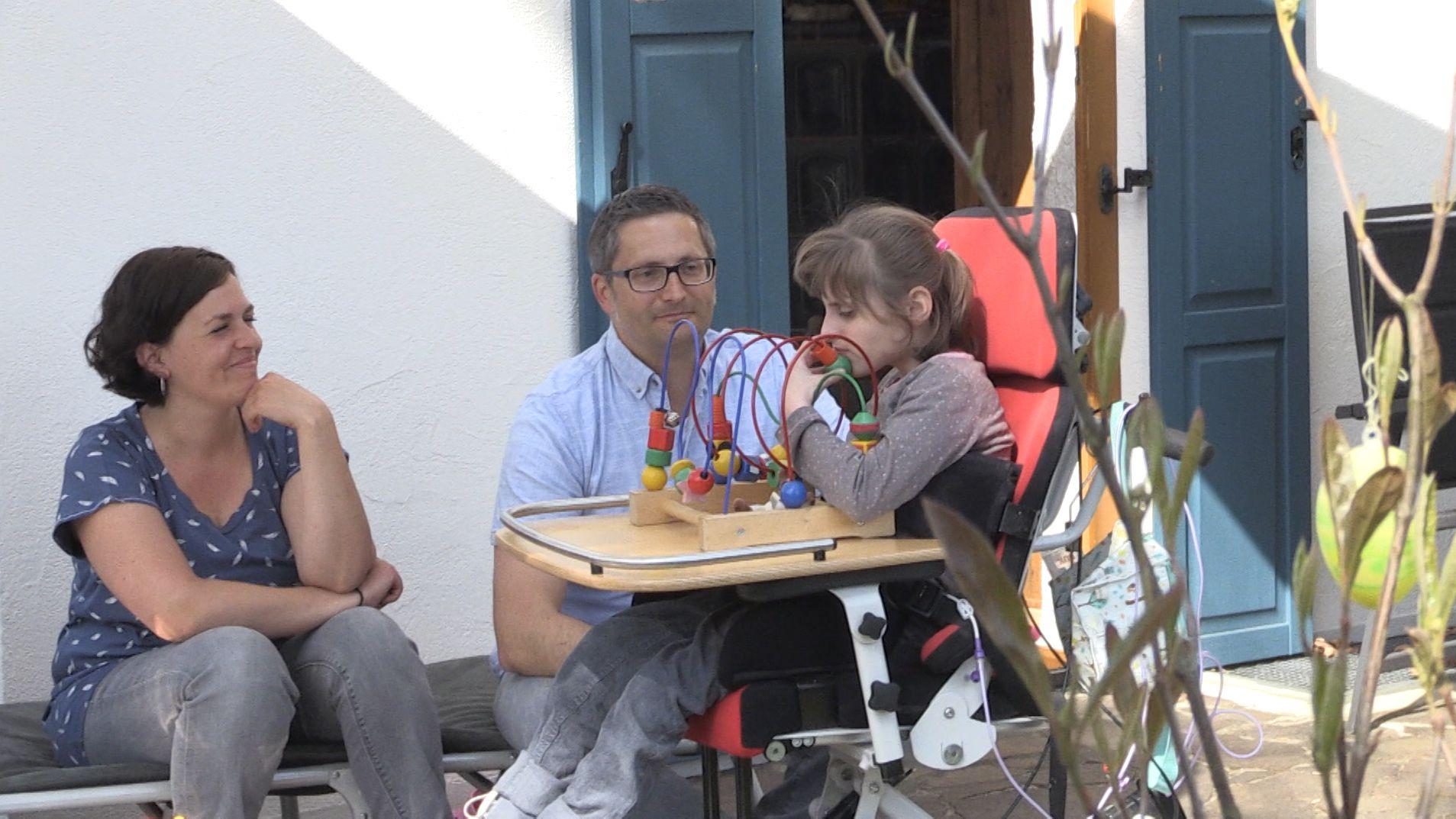Familie Wittstadt mit der 9-jährigen Greta