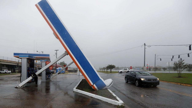 """Tropensturm """"Barry"""" traf am Samstagnachmittag (Ortszeit) nahe der Stadt Intracoastal City westlich von New Orleans auf die Küste"""