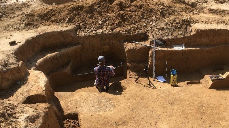 7.000 Jahre alte Siedlungsreste in Schweinfurt gefunden