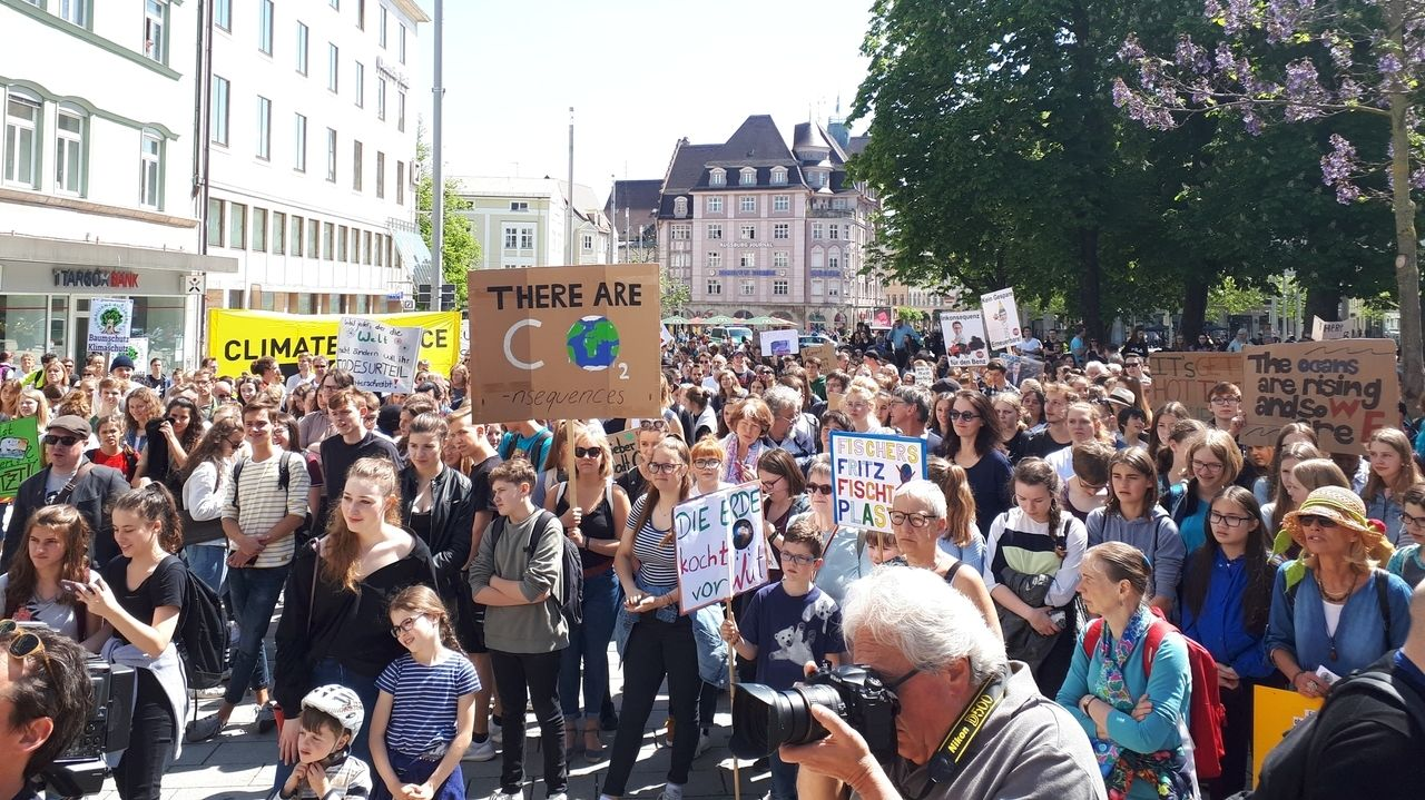 Fridays for Future in  Augsburg