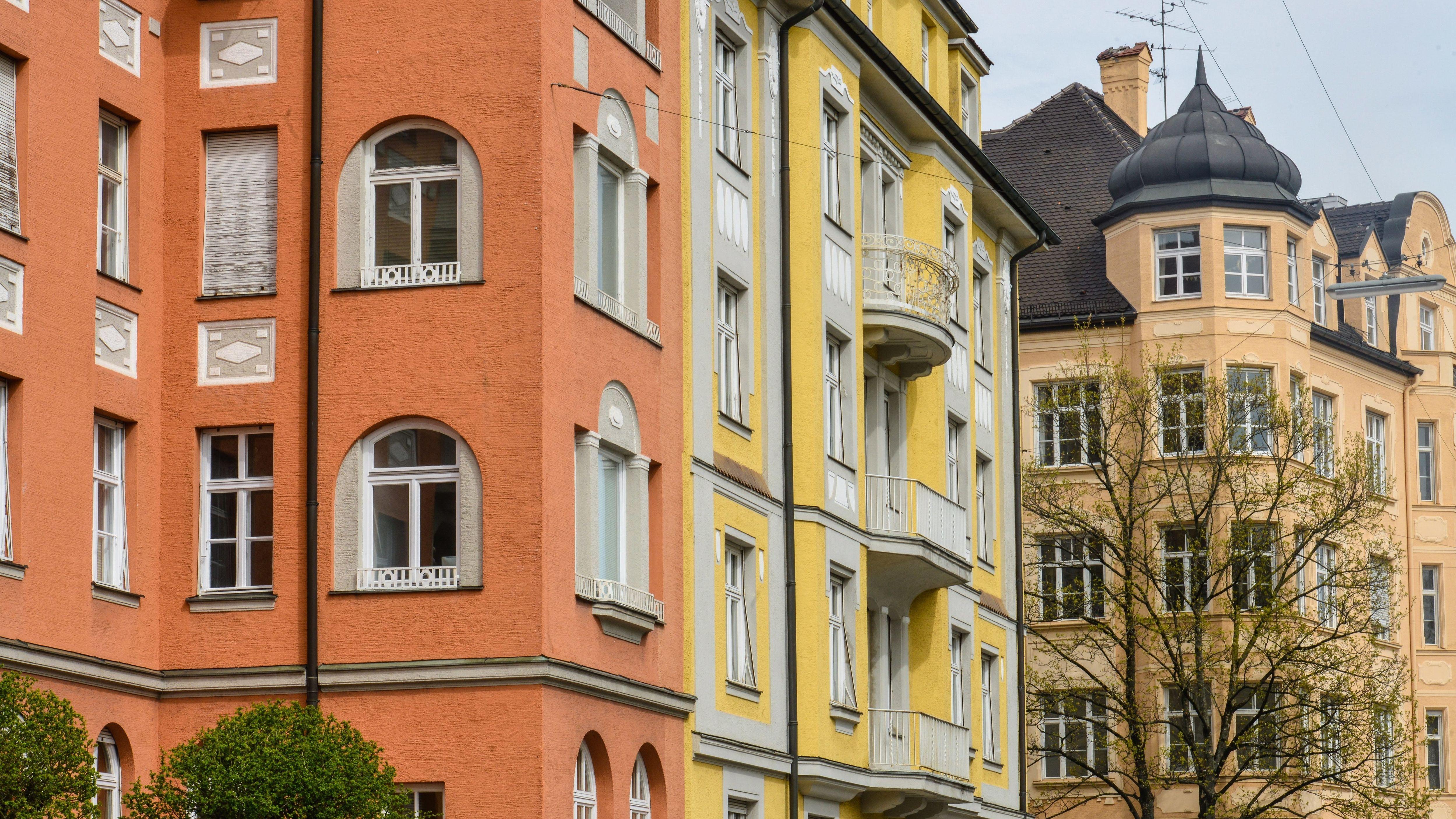 Altbauten in Schwabing