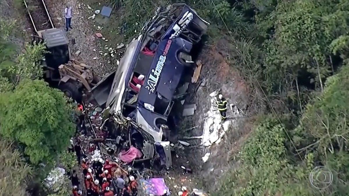 Busunglück in Brasilien