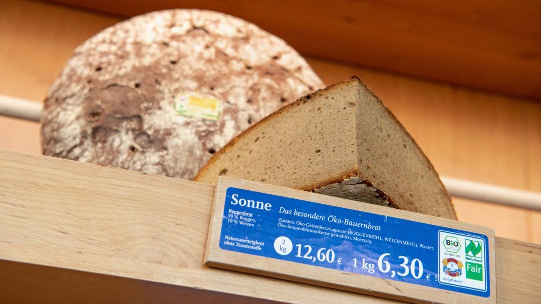 "Bäckereikette Hofpfisterei klagt wegen Brotmarke ""Sonne"""