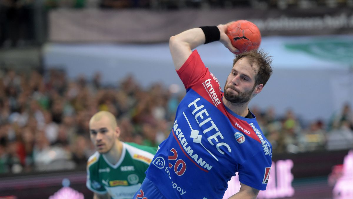 Nico Büdel vom HC Erlangen