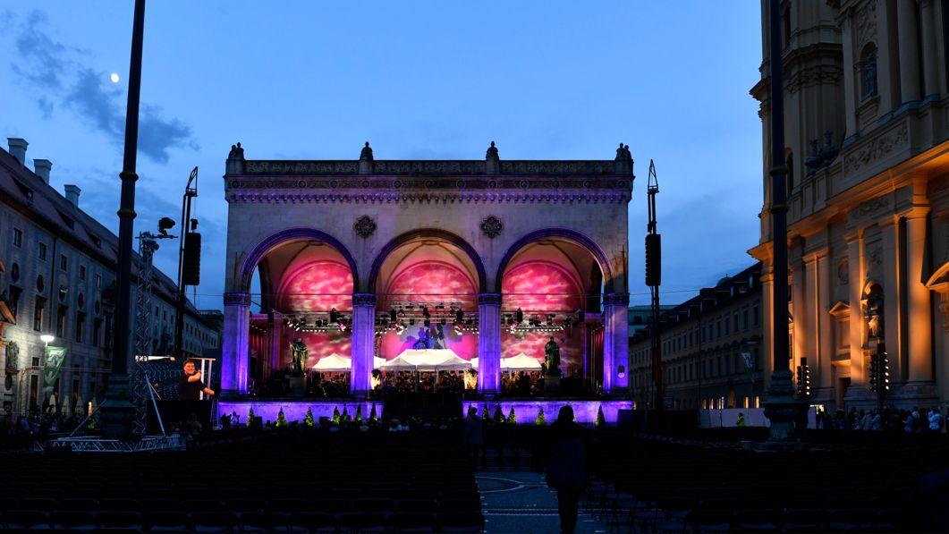 Archiv: Konzert Klassik am Odeonsplatz