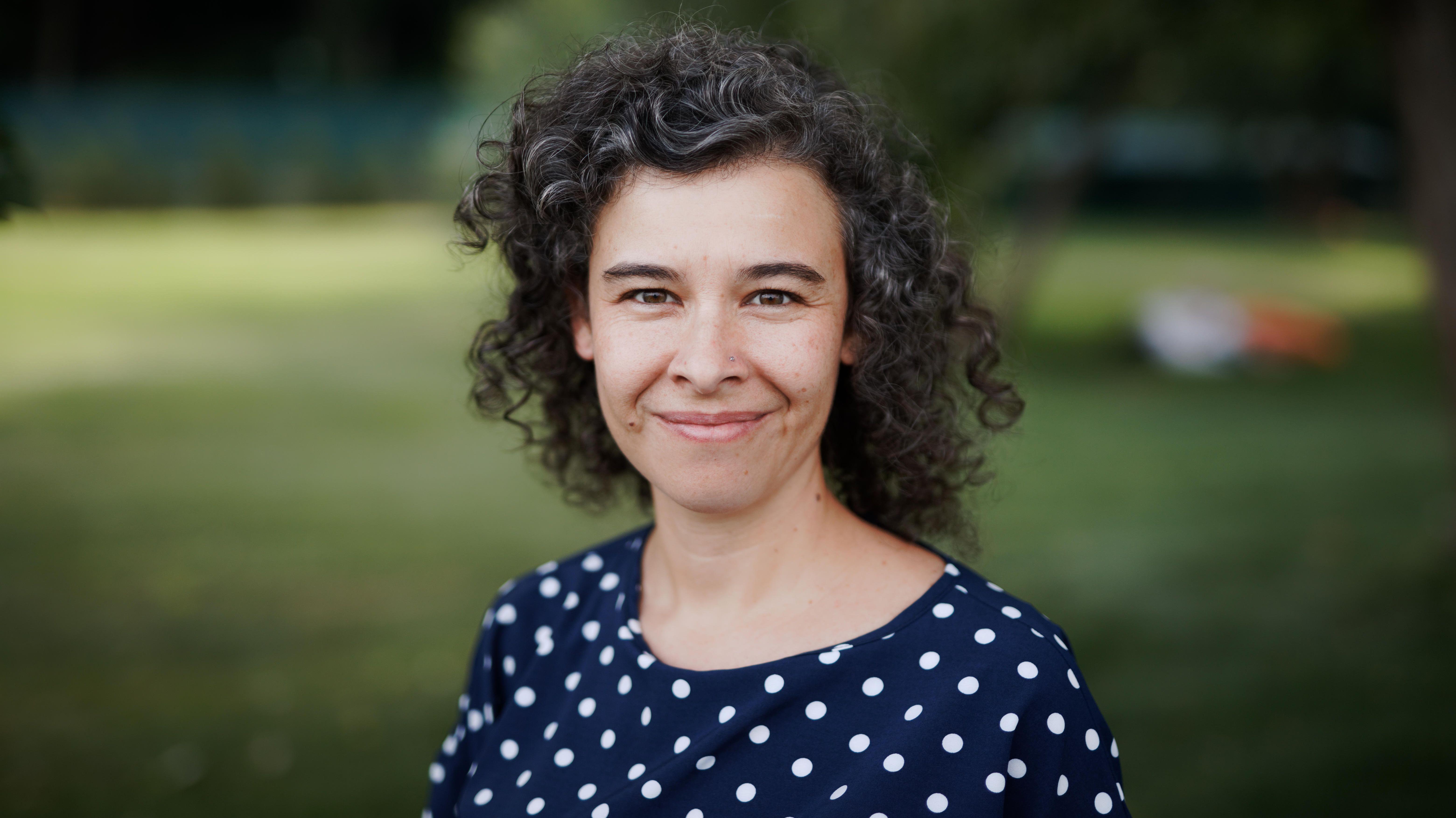 """Die 42-Jährige Lucía Menéndez, eine der Gründerinnen von """"Nomada"""""""