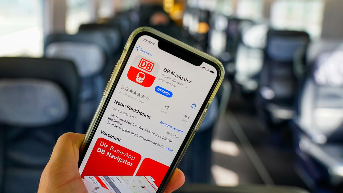 Navigator-App der Deutschen Bahn