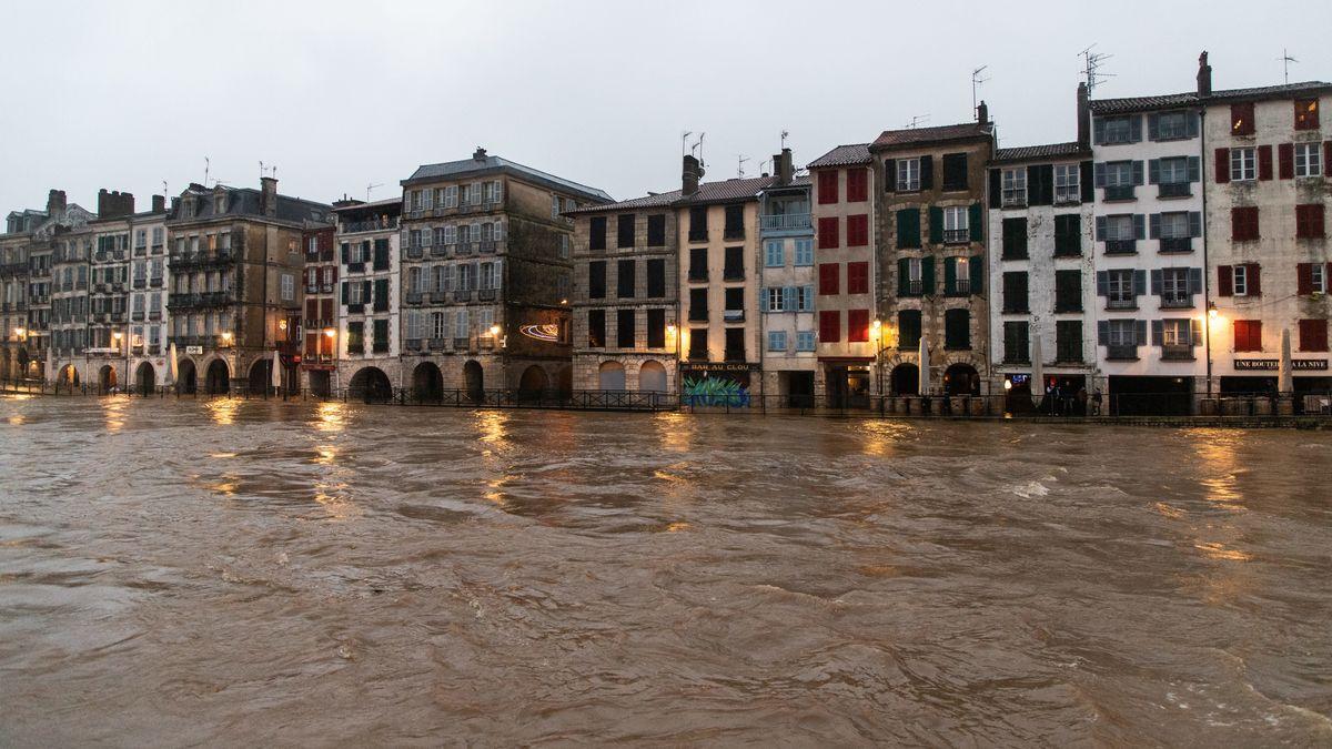 Bayonne, französische Stadt im Département Pyrénées-Atlantiques