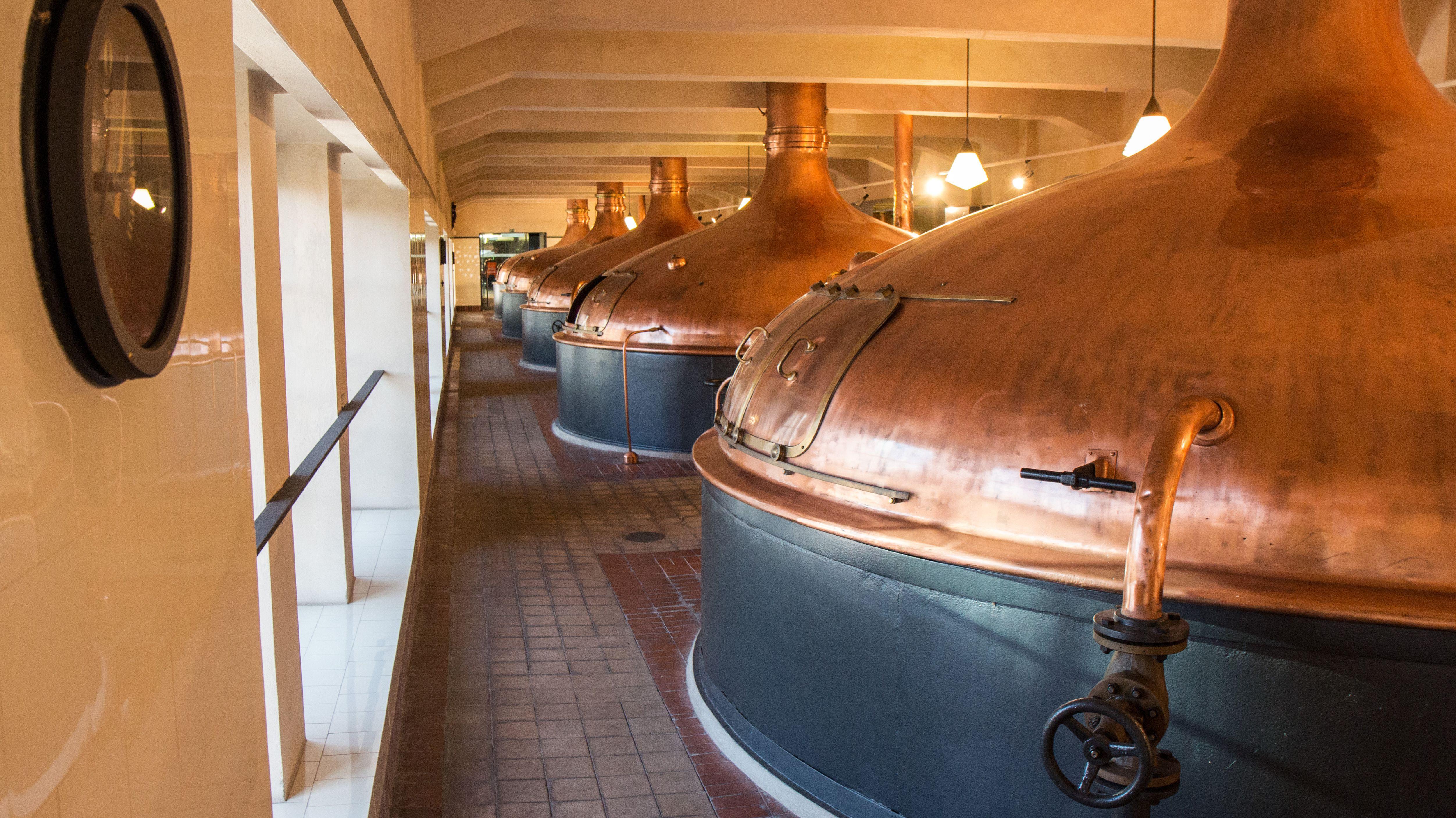 Historisches Sudhaus der Pilsner Urquell Brauerei in Pilsen