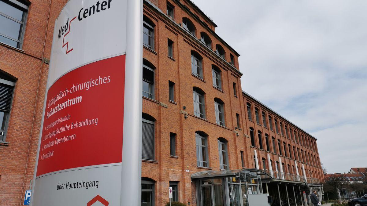 Das Medcenter Bayreuth im Spinnereigebäude.