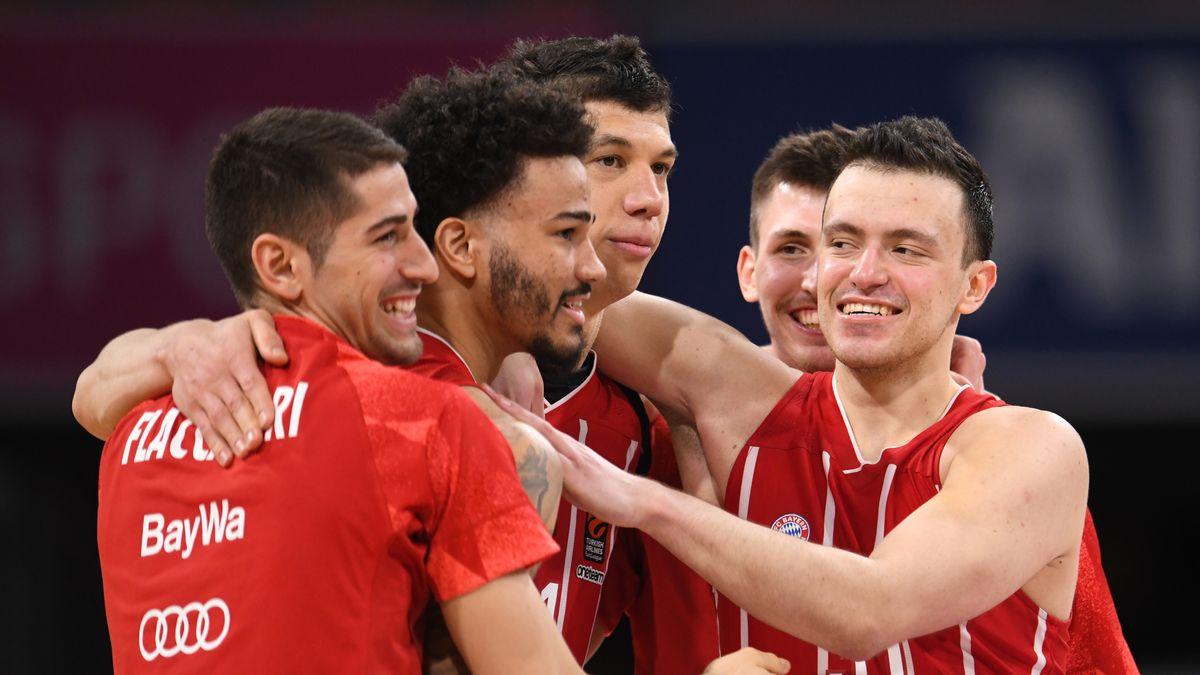 Bayern-Jubel nach dem Spiel