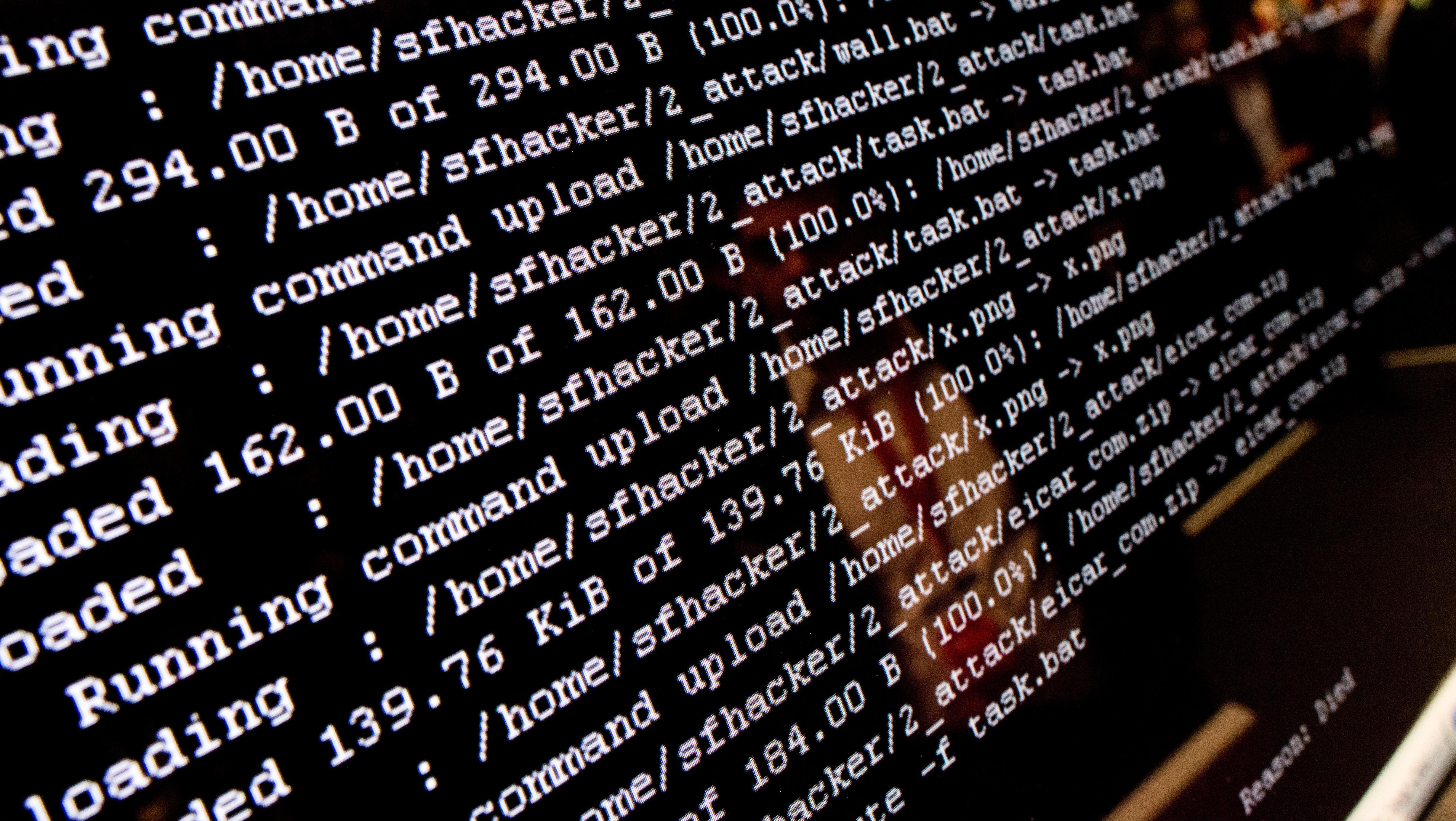 Ein fingierter Cyberangriff auf der Hannover Messe 2018.