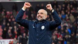 Pep Guardiola, Trainer von Manchester City | Bild:picture alliance/augenklick