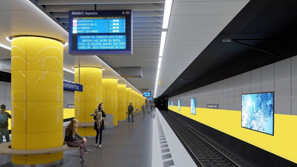 Bahn modernisiert Bahnhöfe der S-Bahn-Stammstrecke