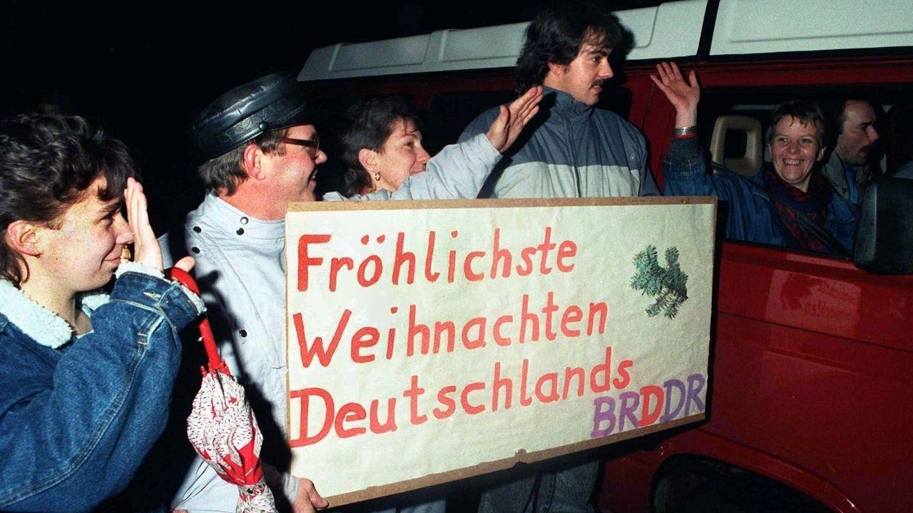 An Weihnachten visumsfrei in die DDR