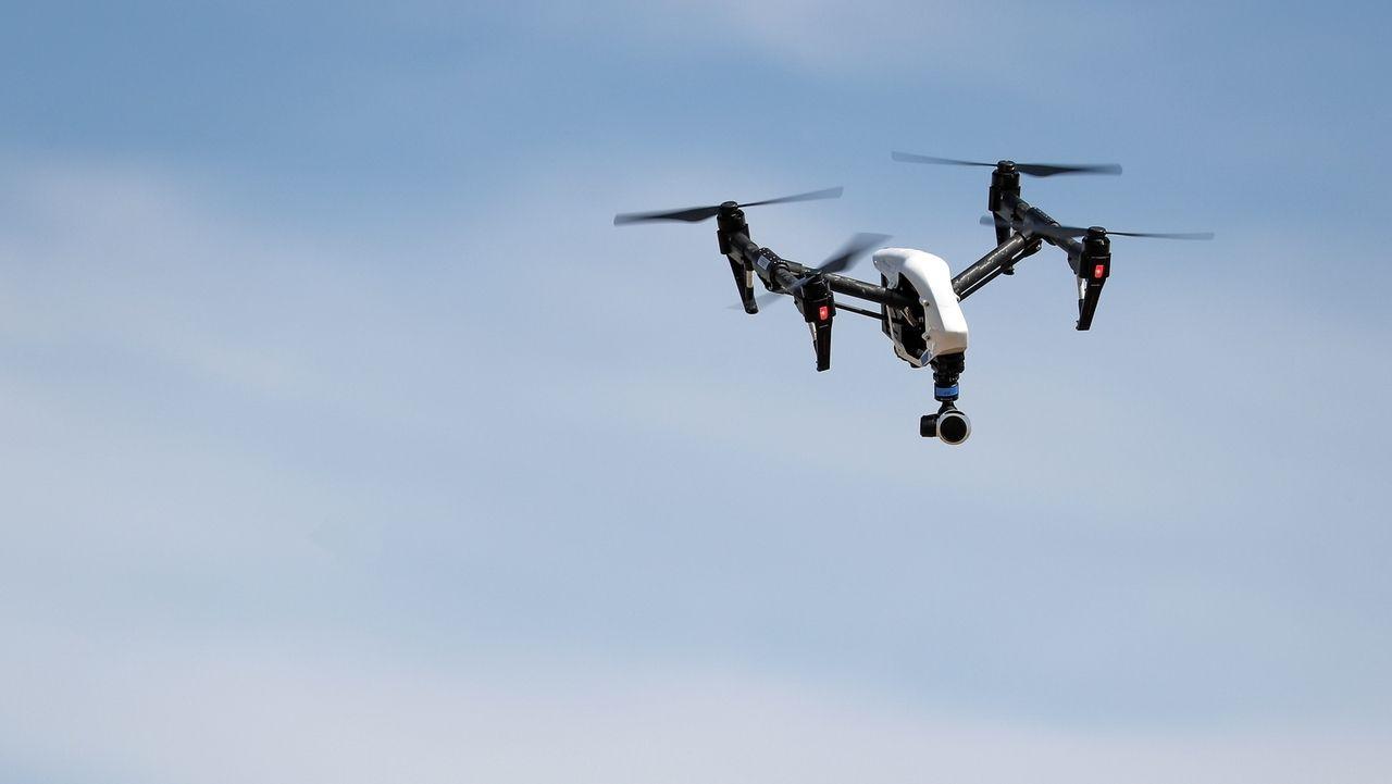 Drohne am Himmel