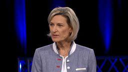 Angelika Niebler von der CSU in der BR Wahlarena. | Bild:BR