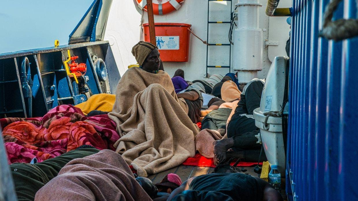 """Seenotrettung im Mittelmeer - """"Alan Kurdi"""""""