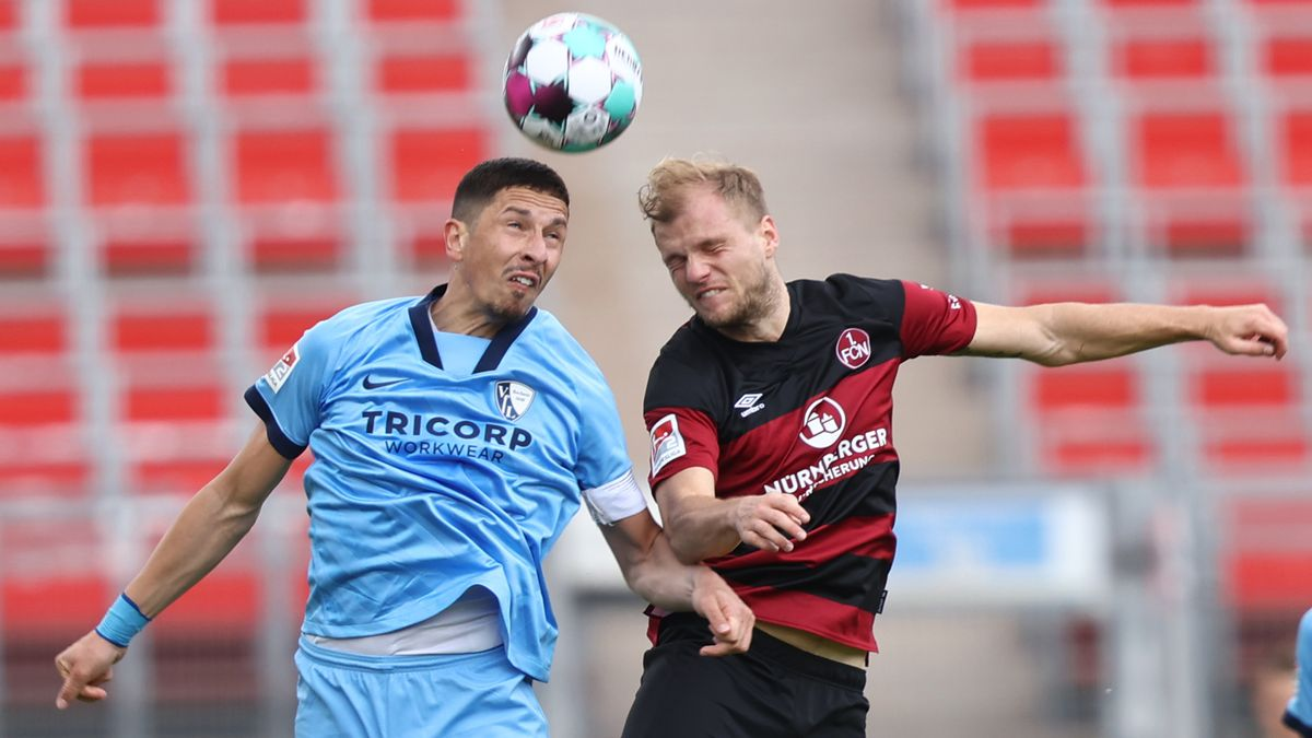 Spielszene 1. FC Nürnberg - VfL Bochum