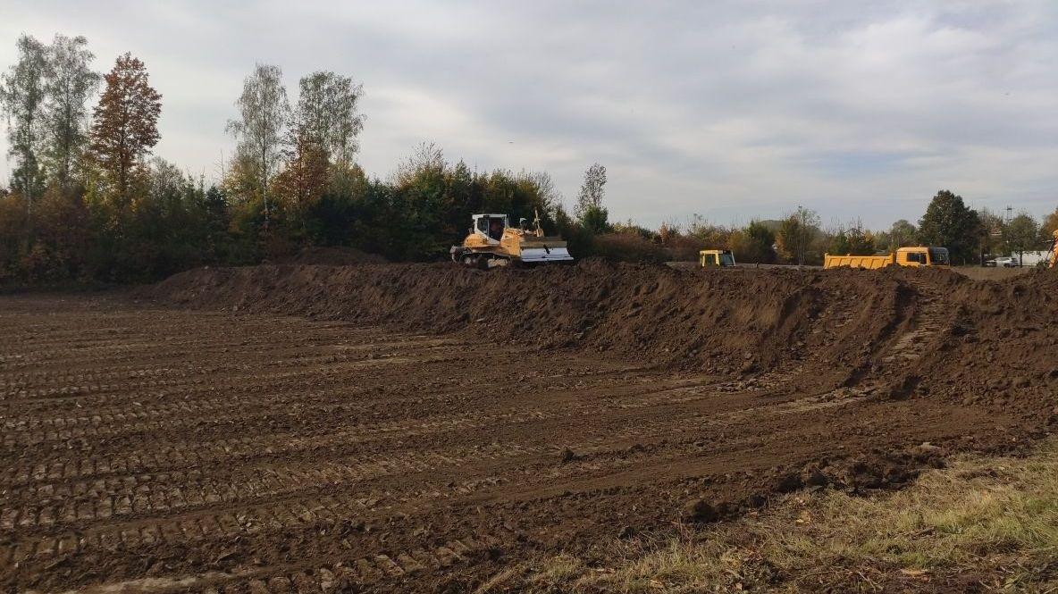 Baubeginn der Hochwasserschutzmaßnahmen im Polder Offenberg/Metten