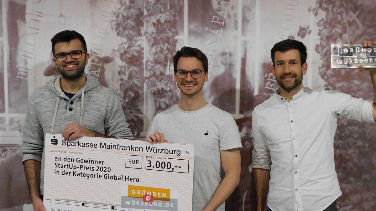 von links nach rechts: Franz Seubert, Jan Meller, Fabian Taigel