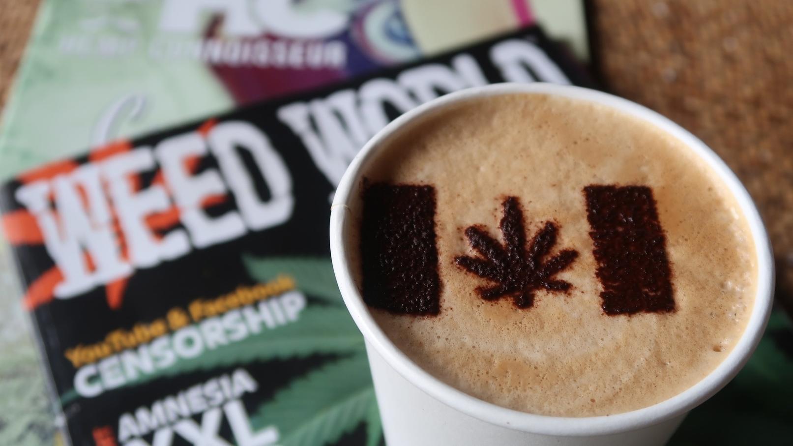Kaffee mit Cannabis