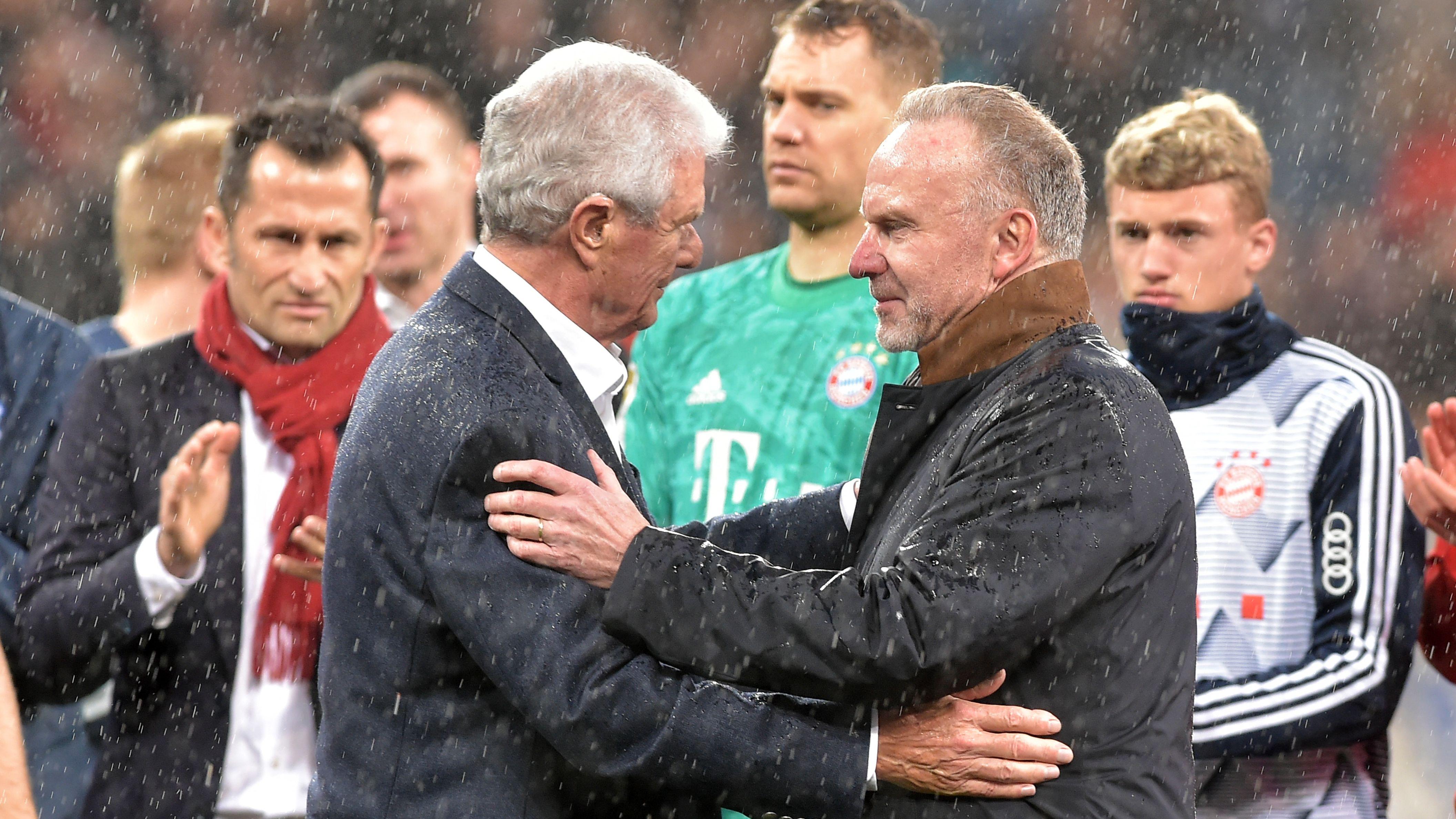 TSG 1899 Hoffenheim - FC Bayern München am 29.02.2020: Bayern-Boss Karl-Heinz Rummenigge entschuldigt sich bei Hoffenheims Mäzen Dietmar Hopp