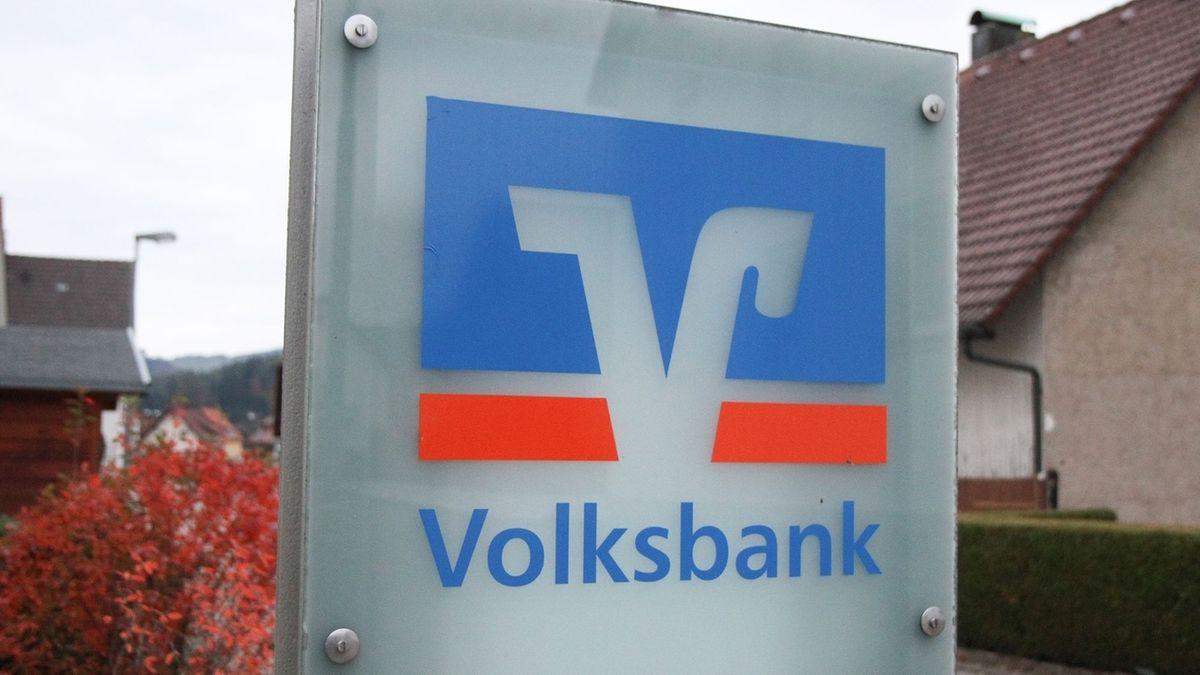 Das Logo der VR-Bank.